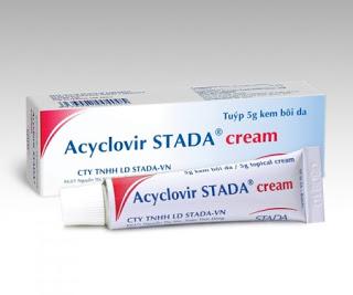 Thuốc acyclovir trị bệnh gì? có tác dụng gì? giá bao nhiêu ?