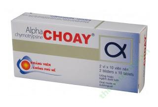 Thuốc alpha choay có tác dụng gì? trị bệnh gì? giá bao nhiêu ?