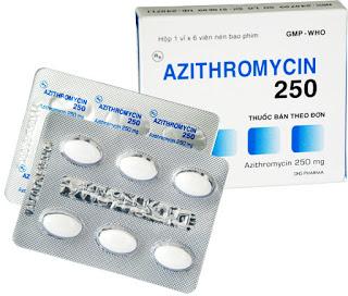 Thuốc azithromycin trị bệnh gì? có tác dụng gì? giá bao nhiêu tiền?