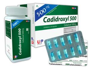 Thuốc cadidroxyl là loại thuốc gì? chữa trị bệnh gì? giá bao nhiêu tiền?