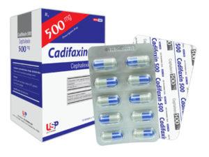 Thuốc cadifaxin 500 là loại thuốc gì? chữa trị bệnh gì? giá bao lăm tiền?