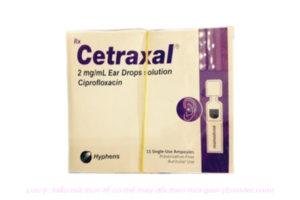Thuốc Cetraxal là loại thuốc gì? có tác dụng gì? giá bao nhiêu tiền?