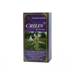Thuốc crilin là loại thuốc gì? có tác dụng gì? giá bao lăm  tiền?