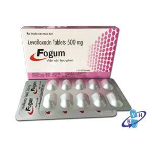 Thuốc fogum 500mg là loại thuốc gì? chữa trị bệnh gì? giá bao lăm tiền?