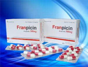 Thuốc franpicin là loại thuốc gì? chữa trị bệnh gì? giá bao nhiêu tiền?