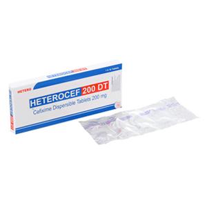 Thuốc Heterocef 200 DT là loại thuốc gì? có tác dụng gì? giá bao nhiêu tiền?