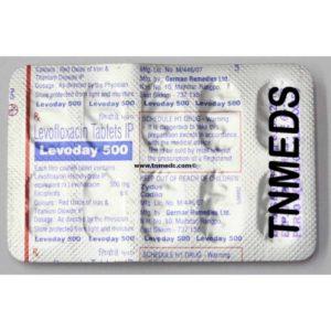 Thuốc levoday 500 là loại thuốc gì? chữa trị bệnh gì? giá bao nhiêu tiền?