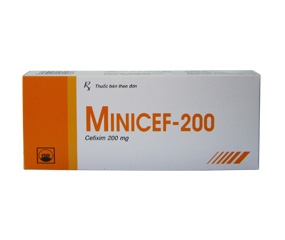 Thuốc minicef 200 là loại thuốc gì? có tác dụng gì? giá bao lăm tiền?