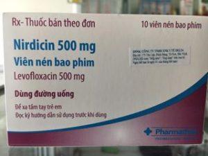 Thuốc Nirdicin 500mg là loại thuốc gì? có tác dụng gì? giá bao lăm tiền?