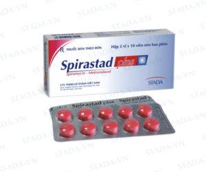 Thuốc spirastad plus là loại thuốc gì? có tác dụng gì? giá bao nhiêu tiền?