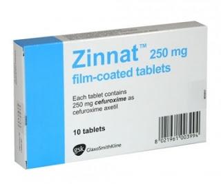 Thuốc zinnat tablets trị bệnh gì? có tác dụng gì? giá bao nhiêu  tiền?